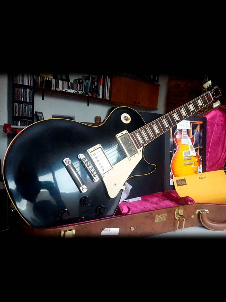 Gibson Les paul 1960 Collectors Choice 34 Blackburst