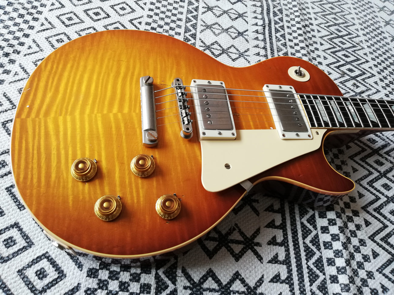 Gibson les Paul collectors choice #43 mick ralphs