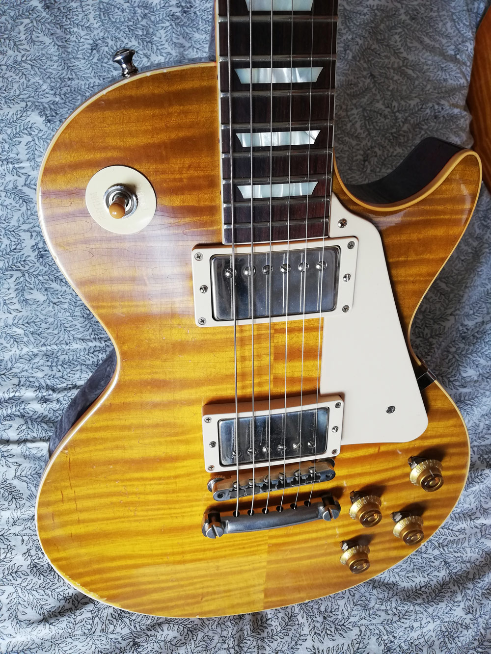 Gibson Les Paul 1959 Reissue true historic murphy aged