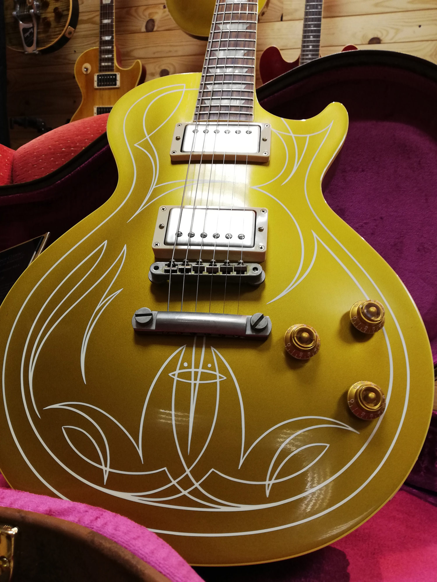 Gibson les Paul billy gibbons 57 goldtop VOS