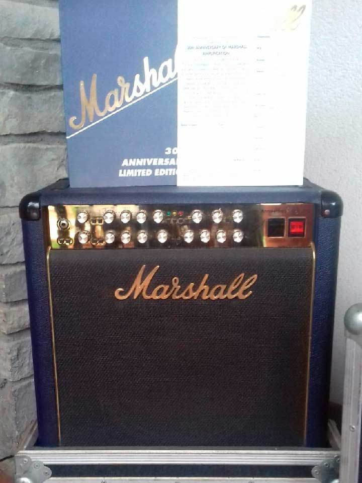 Marshall6101 Combo 30th Anniversary Limited Edition 1992 Blue